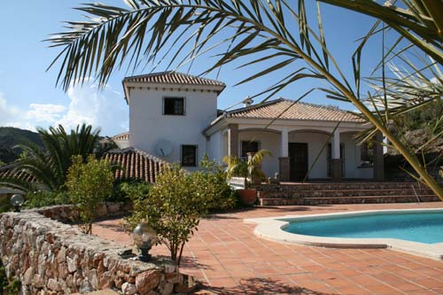 Holiday Rentals in Competa,Andalucia